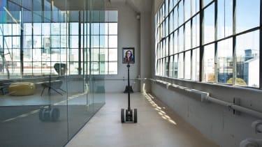 Emily Dreyfuss using a telepresence robot