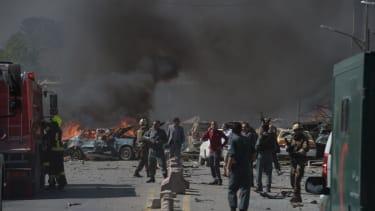 Bomb blast kills at least 9 in Kabul, wounding dozens