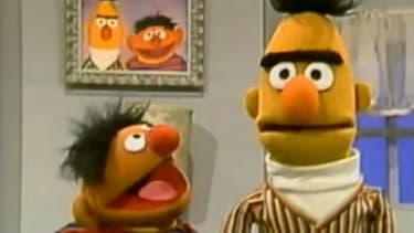 """Bert recently tweeted that his hair was """"a little more 'mo,'"""" which some have read as slang for homosexual."""