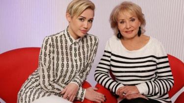Miley Cyrus, Barbara Walters