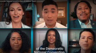 Young Democratic leaders keynote at the DNC.