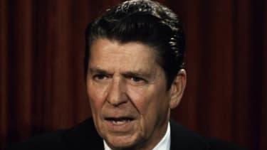 Ronald Reagan in 1979.