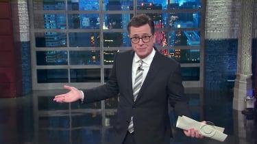 Stephen Colbert talks Comey