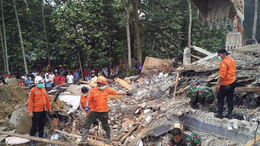 Indonesia searches for survivors after earthquake