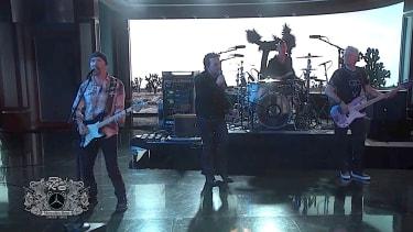 U2 performs on Kimmel Live