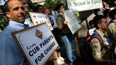 Boy Scouts revoke charter after troop leader comes out as gay