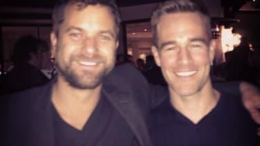 James Van Der Beek and Joshua Jackson whet your appetite for a Dawson's Creek reunion
