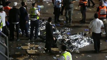 Stampeded kills dozens in northern Israel
