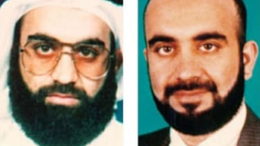 The U.S. insists that Sept. 11 mastermind Khalid Sheikh Mohammed (pictured), along with two other al Qaeda suspects, are the only confirmed cases of waterboarding, despite Human Rights Watch'