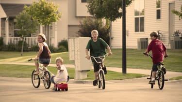 Neighborhood kids.