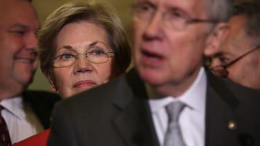 Harry Reid encouraged Elizabeth Warren to run for president.