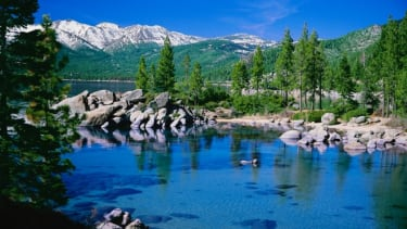 Tahoe is loosely based on a Native American words meaning lake.