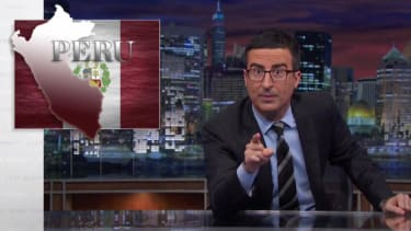 John Oliver highlights Obama's ISIS dilemma by picking on Peru