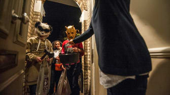 Trick or treat, at any age.