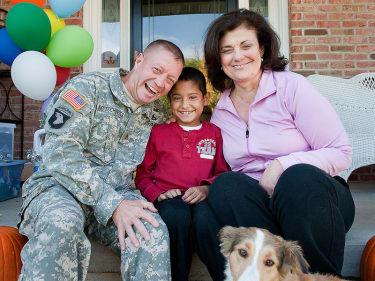 Army major keeps promise, brings child from Afghanistan to U.S. for surgery
