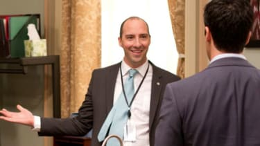 Tony Hale: Veep 'doesn't make me cynical at all'