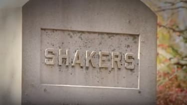 A Shakers monument.