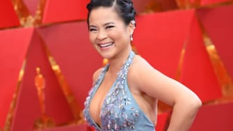 Kelly Marie Tran arrives for the 90th Annual Academy Awards on March 4, 2018, in Hollywood, California.
