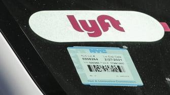 A Lyft driver.