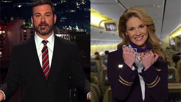 Jimmy Kimmel pokes fun at United Airlines