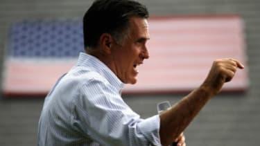 Mitt Romney campaigns in Cornwall, Penn.r.