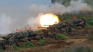 Taiwan fires U.S.-supplied weapons in drill