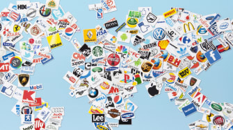 The world as brands.