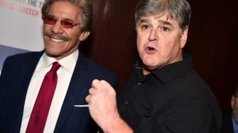 Geraldo Rivera and Sean Hannity