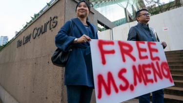 Protesters seek Meng Wanzhou's release in Canada