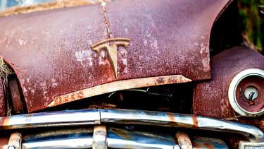 An old car.
