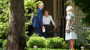 Joe and Jill Biden and Rosalynn Carter