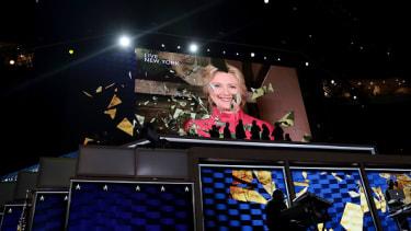 Hillary Clinton's DNC video appearance.