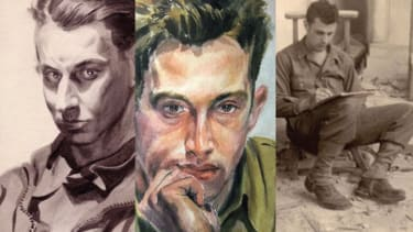 The exhibit catalog: Renderings and images of a few of the artist-warriors