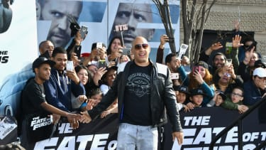 Vin Diesel in NYC for The Fate of the Furious