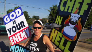 Westboro Baptist Church founder Fred Phelps 'on the edge of death'