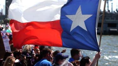 Texas flag emoji.
