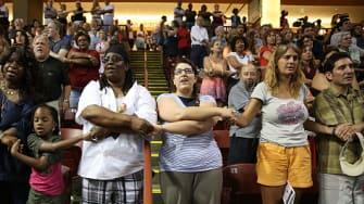 Charleston church shooting vigil