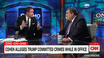 Chris Cuomo and Chris Christie agree that Trump lies a lot