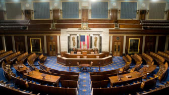 The U.S. House of Representatives chamber.