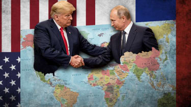 President Trump and Vladimir Putin.