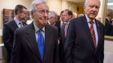 Mitch McConnell is happy about the tax cuts