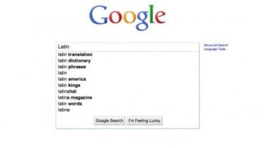 Google instant's censorship problem.