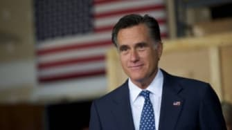 Mitt Romney might be forging ahead of Obama because of the stalled economy: At least 67 percent of respondents in Florida, Ohio, and Pennsylvania say the country's still in a recession, and t