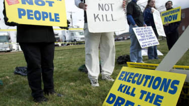 Only 56 percent of U.S. citizens support the death penalty