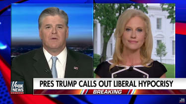 Sean Hannity and Kellyanne Conway talk Comey and the left