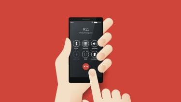 Dialing 911.