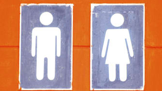 The words female and male aren't actually related.