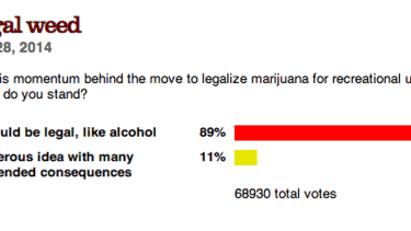 Bill O'Reilly took a poll on legalizing weed. You'll never guess what happened next.