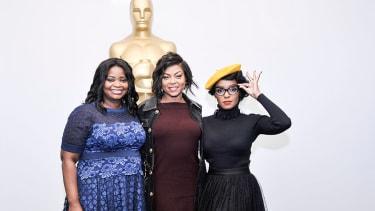 Octavia Spencer, Viola Davis and Janelle Monae from Hidden Figures.