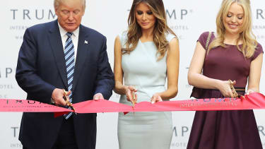 The ribbon-cutting at Trump International Hotel in Washington, D.C.